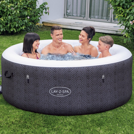 Lay-Z-Spa Havana Black Oppblåsbar Spa (2-4 Personer)