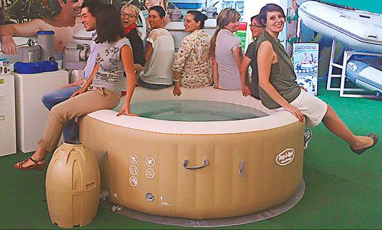 Lay-Z-Spa massasjebad tåler det meste!